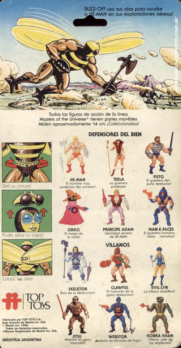 Les Backcards Top Toys Buzz-off_Carton