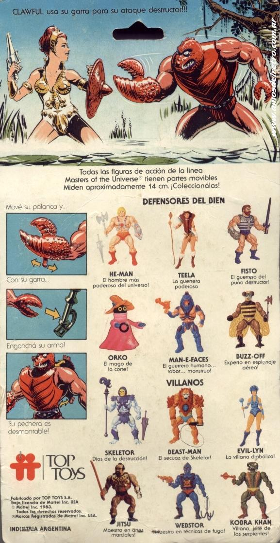Les Backcards Top Toys Clawful_Carton