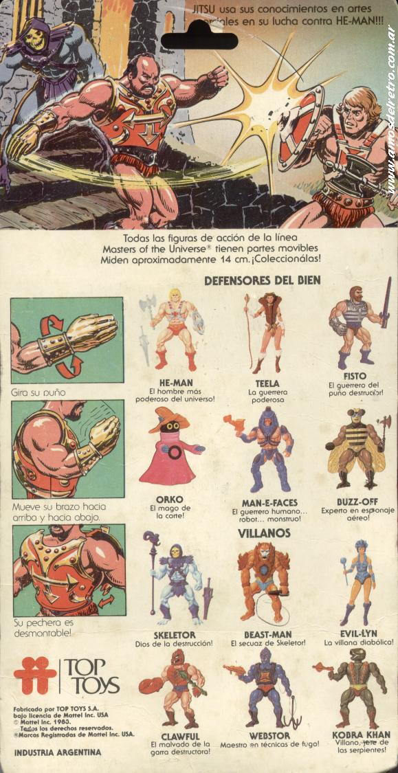 Les Backcards Top Toys Jitsu_Carton