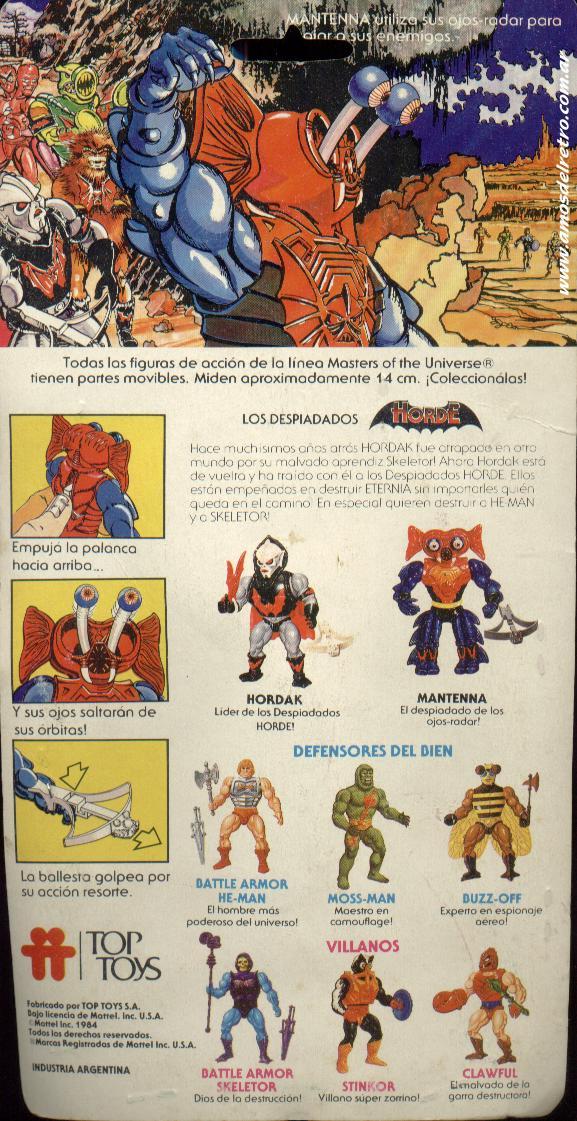 Les Backcards Top Toys Mantenna_Carton
