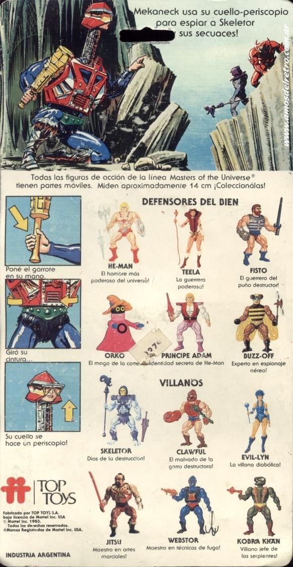 Les Backcards Top Toys Mekaneck_Carton