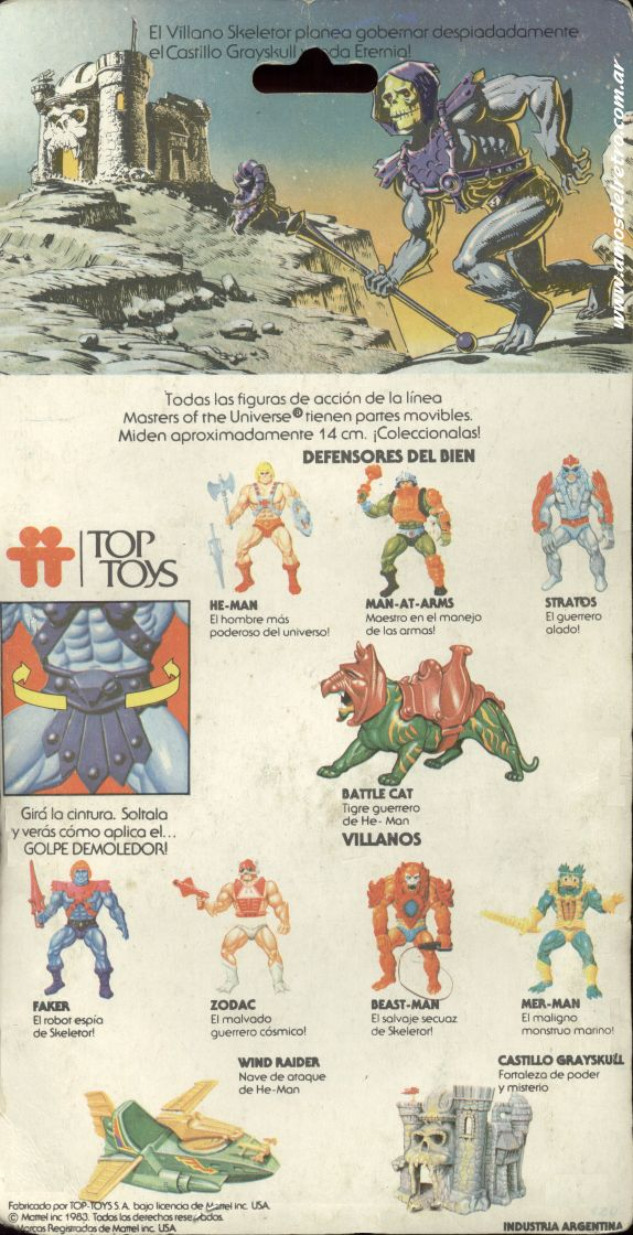 Les Backcards Top Toys Skeletor_Carton