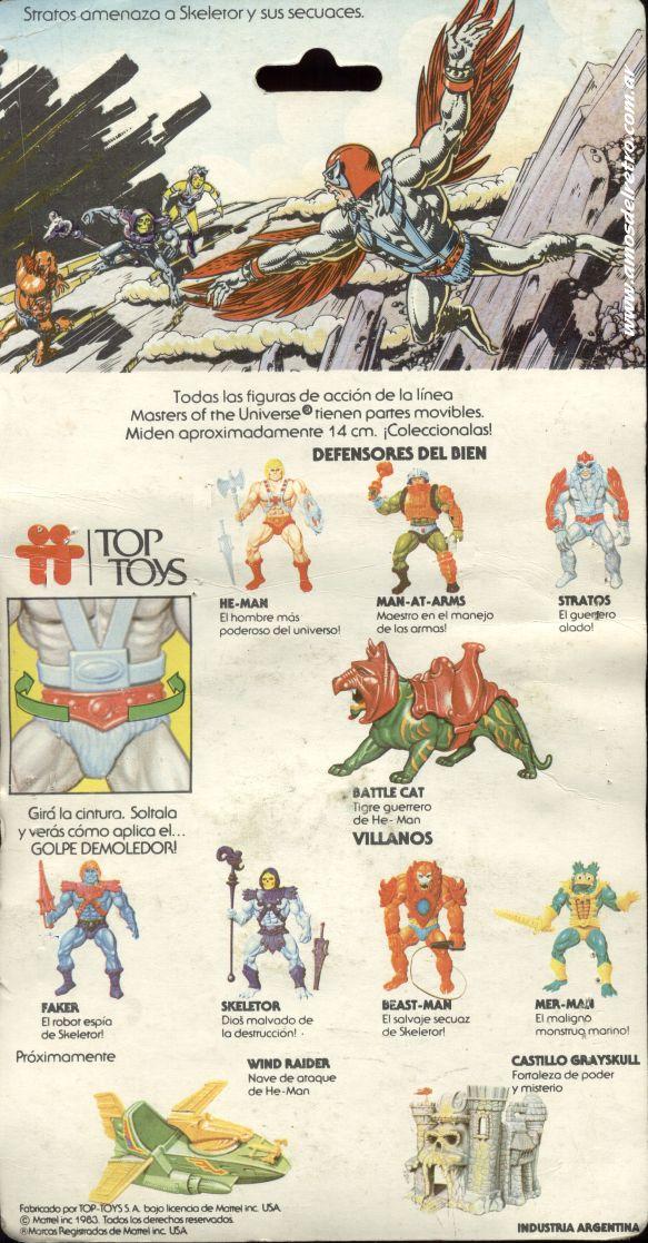 Les Backcards Top Toys Stratos_Carton