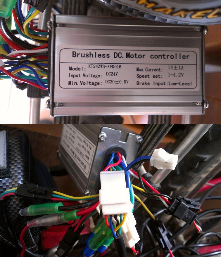 Kit Mxus e.blue sin display ( Puentear pantalla display en kit ) Control