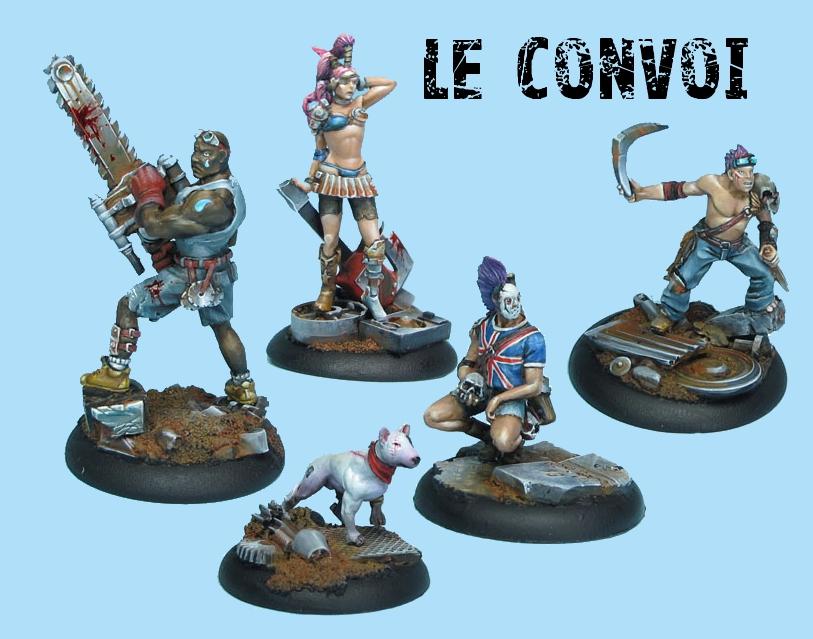 Présentation des jeux de figurines Convoi