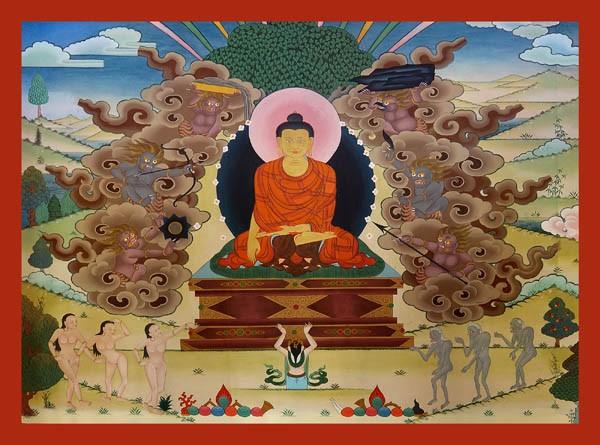 Mâra, le maître des illusions - Page 2 Meditation