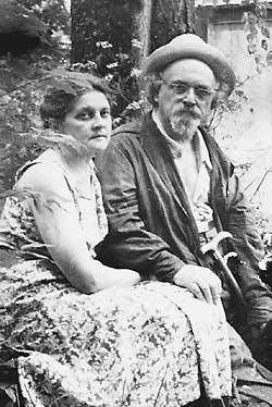 4 февраля День Рождения Михаила Пришвина Prishvin-and-wife