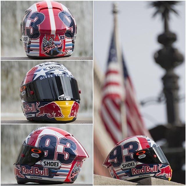 Casques Helm-marc-marquez-sambut-motogp-indianapolis-2014-1