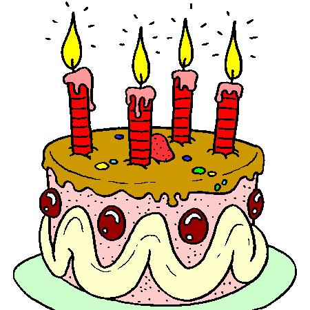 Gâteau d'anniversaire (mon blog a déjà 4 ans)!! A7739c81