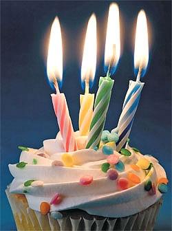Gâteau d'anniversaire (mon blog a déjà 4 ans)!! 4ieme