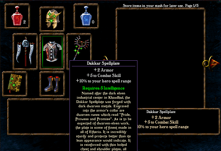 Algorithm for spell casting chance Items3