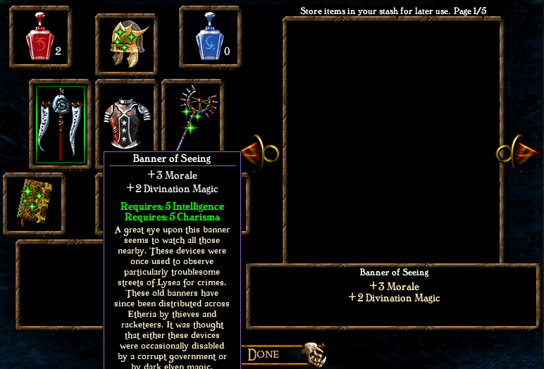 Algorithm for spell casting chance Items4