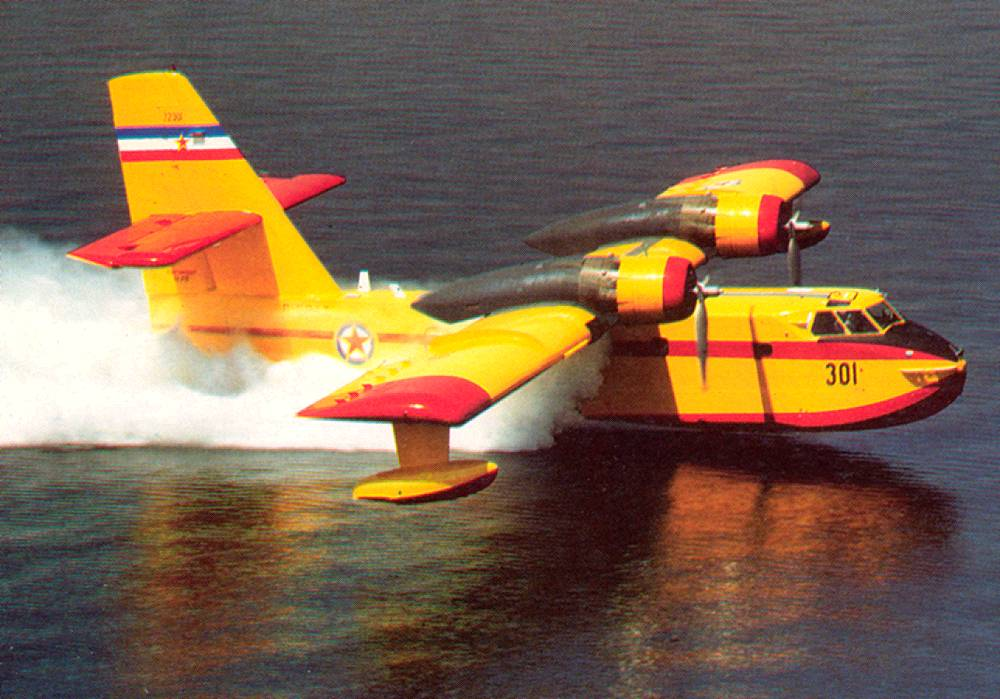 Canadair CL-215  Protiv pozarni avion Canadair_CL-215s