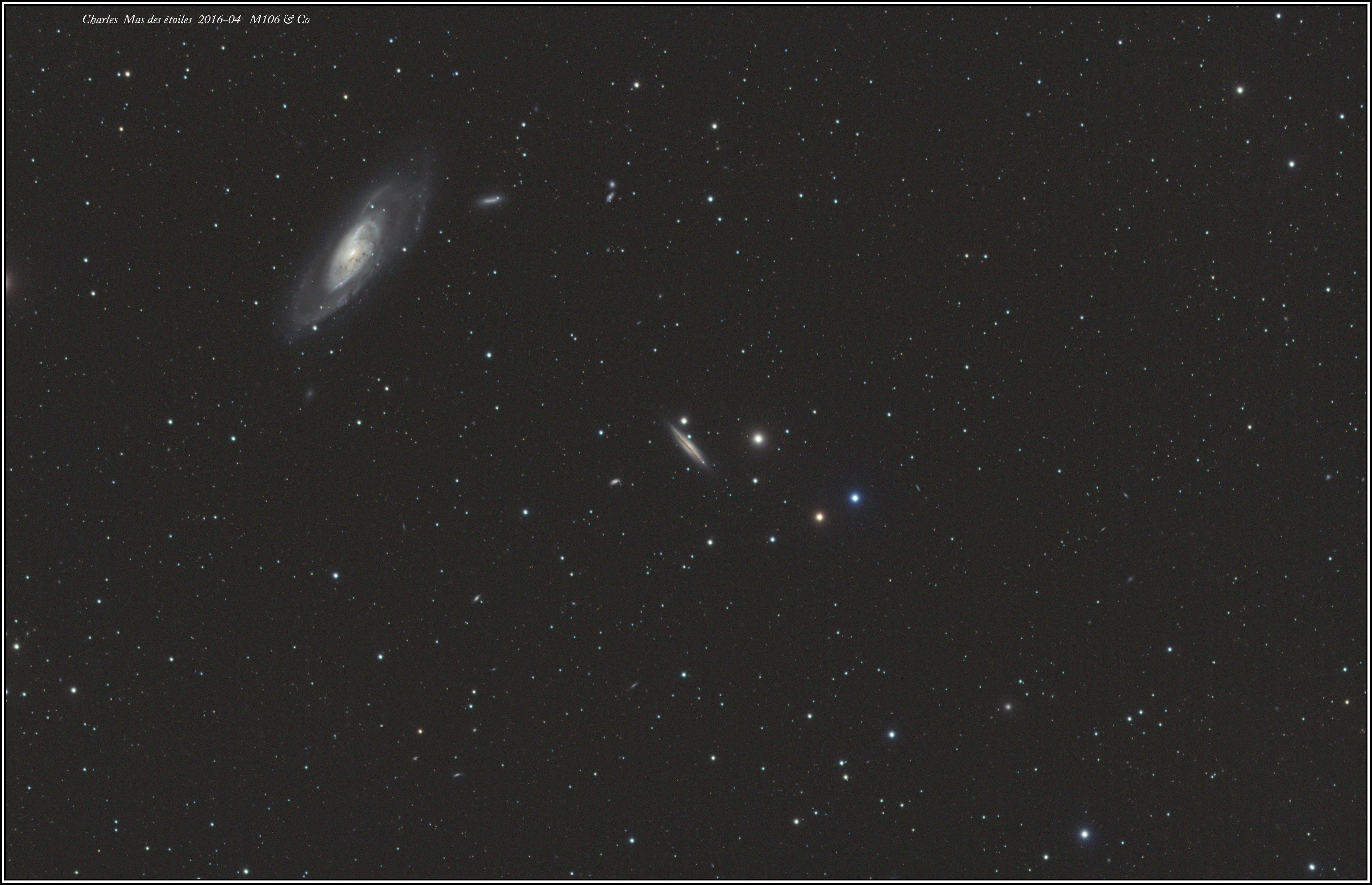 Images d'avril M12 et M106&Co M106-et-autres