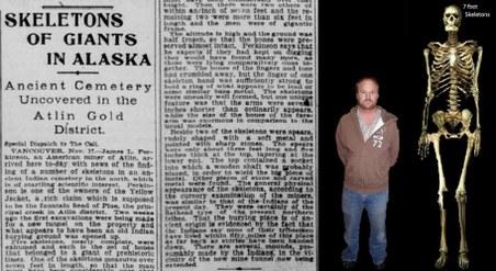Ancient Giants Found Buried In Alaska? Alaska-Skeletons
