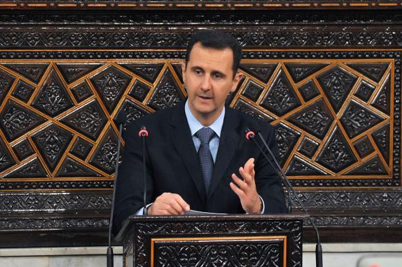 Jornais do Brasil - Imprensa Escrita Syrian-President-Bashar-al-Assad-Address-Parliament_1