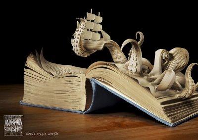 [Art] Livres objets-Livres d'artistes - Page 2 ANAGRAM_Octopus