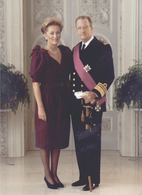 Marine & roi Majestes_albert2_paola_de_belgique