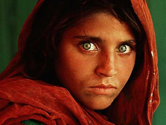 Фотографија на денот. Afghangirl