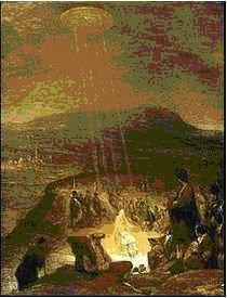 Ovnis em Pinturas Antigas Baptismo