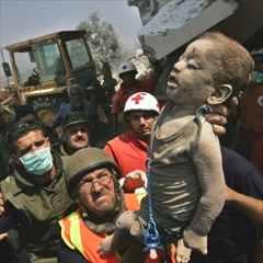 Vidéo N°7 <Le conditionnement des enfants Palestiniens> Qana%20victim%2001