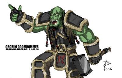 Próceres de Azeroth y la nueva raza de wc3 Doomhammer