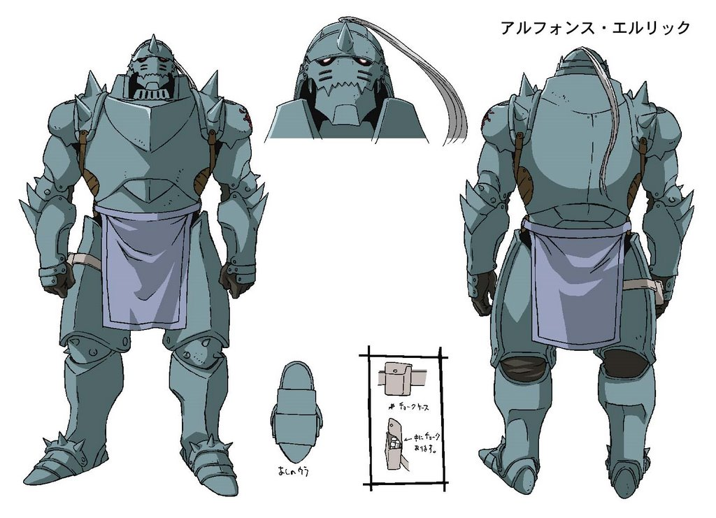 Full metal Alchemist i Full Metal Alchemist: Brotherhood Alphonse%20Elric