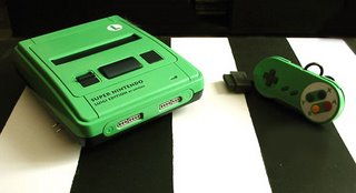 -= CUSTOM SUPER NES  =- Snesluigi08