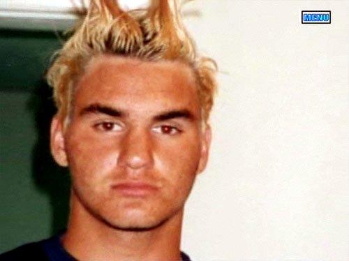 Roger de niño Federer5579