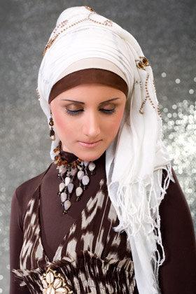 أجعلي أناقتك في حجابك , اناقة الحجاب  Images-55deb8880644