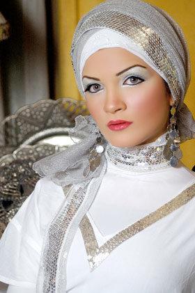 أجعلي أناقتك في حجابك , اناقة الحجاب  Images-84fcc574a258