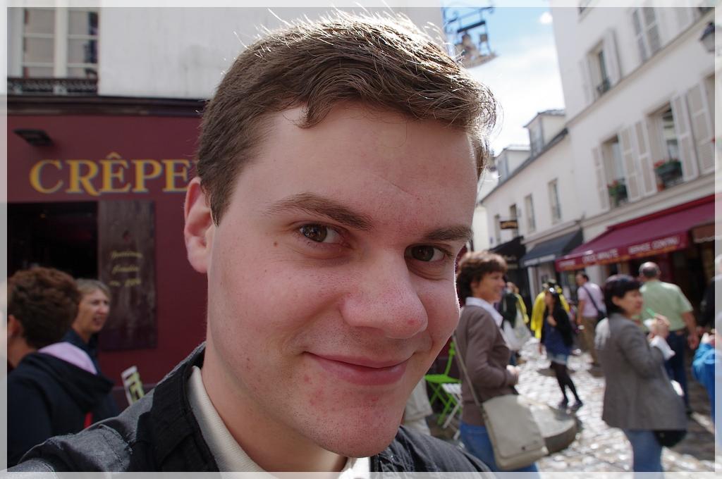 Montmartre à la mi-août K7010988