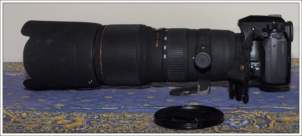 Vendu Sigma Sigma 100-300mm F4 EX APO + teleconvertisseur x1.4 (vendu) OMD03450