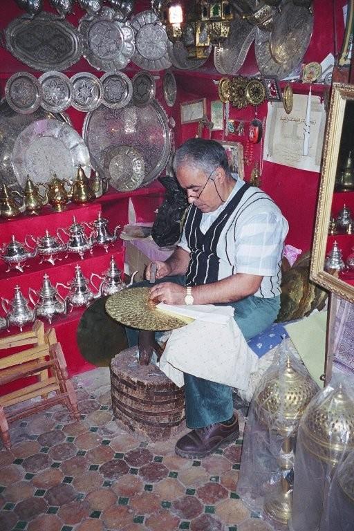 حرفة النحاس في الجزائر.......من تقاليدنا Dinan