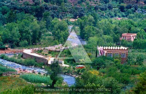 بلاد المغرب بالصور Ourika