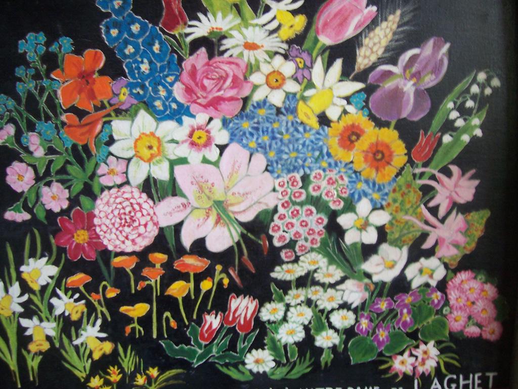 Coucou moi c'est lila... Tableau-fleurs