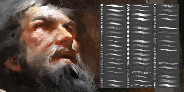 Кисти для рисования в фотошоп / Paint brushes in Photoshop 63728