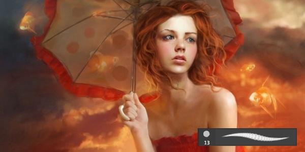 Кисти для рисования в фотошоп / Paint brushes in Photoshop 63736