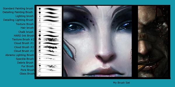 Кисти для рисования в фотошоп / Paint brushes in Photoshop 63847
