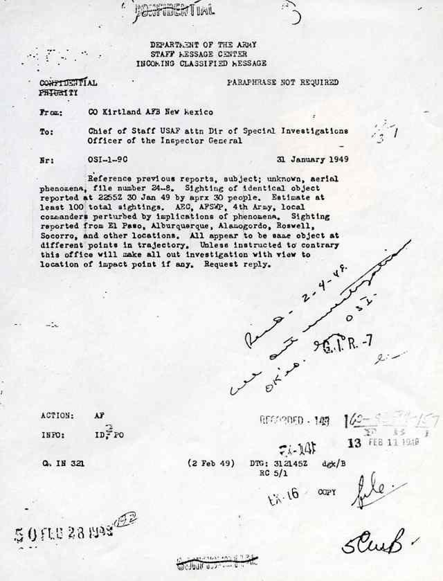 (1952) Document F.O.I.A les ovnis sont des vaisseaux interplanétaires! Sighting_jpg