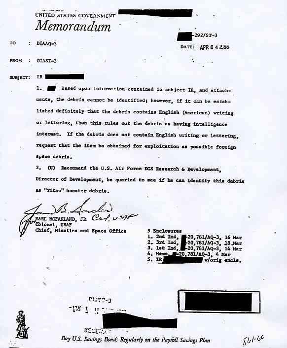 "CIA: DIA (Defense Intelligence Agency) des morceaux de ""satellite"" Keever2_jpg"