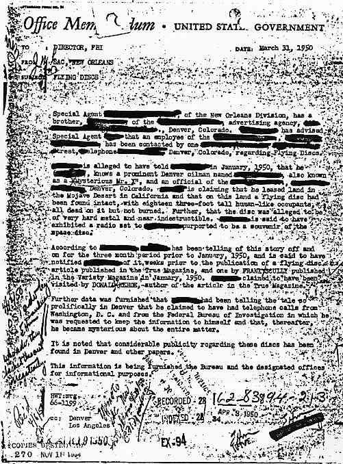 """(1950) Télétype top secret récupération des véhicules spatiaux """"étrangers"""" New_orleans_jpg"""