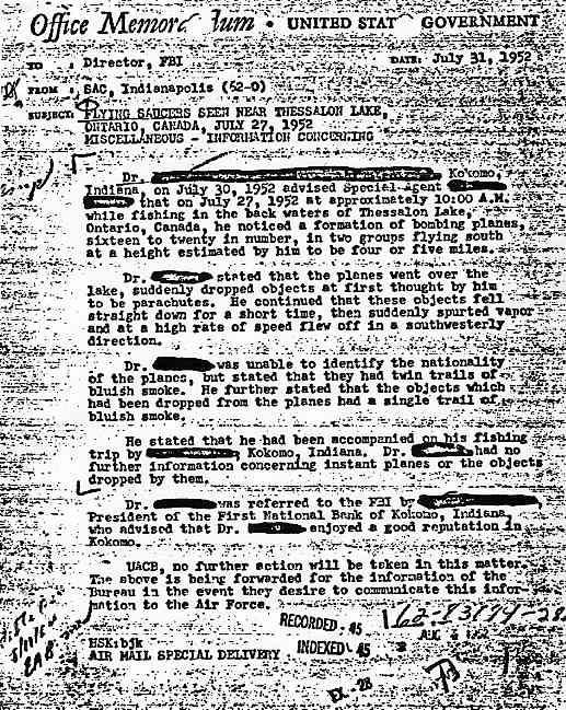 (1952) FBI un chef scout de Palm Beach Floride observe un Ovni Thessalon_jpg