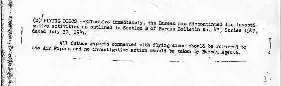 FBI Comment et pourquoi le FBI arrêta ses enquêtes sur les disques volants Bulletin_57_jpg