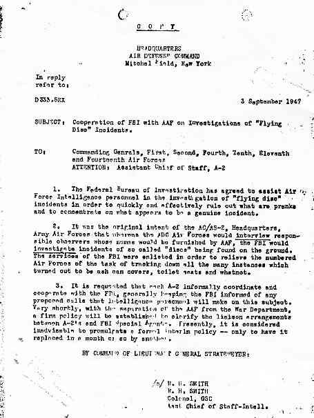 FBI Comment et pourquoi le FBI arrêta ses enquêtes sur les disques volants Smith_jpg