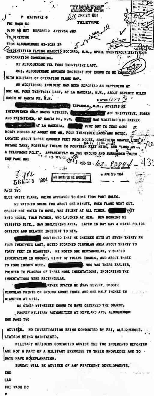 """Top secret: Opération """"CLOUD GAP""""  télétype du 27/4/1964 Cloud_gap_jpg"""