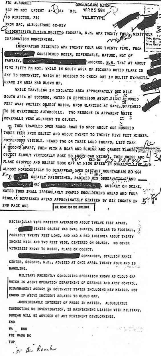 (1964) Socorro, témoignage ovni du 25 avril de l'Agent Zamora Socorro_jpg