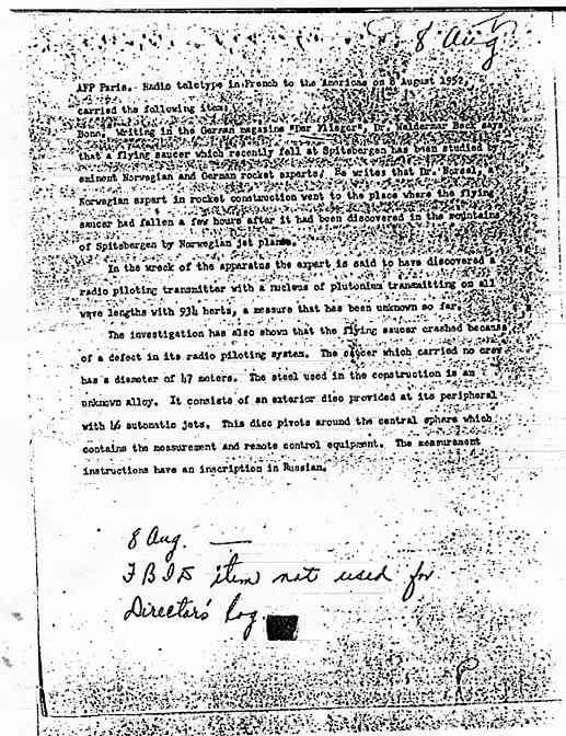 CIA: Document du 8 août 1952, déclassifié en novembre 1978 Spitsbergen2_jpg