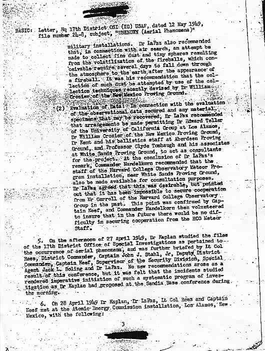 (1949) US Air Force le phénomène OVNI un problème pour la Sécurité Nationale  Kaplan3_jpg