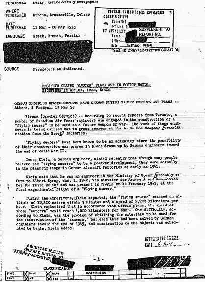 CIA: Les plans d'une soucoupe entre les mains de l' URSS (mars 1955) Klein1_jpg
